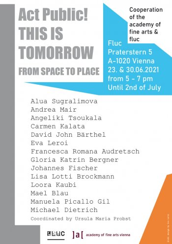 Bild zu Act Public! THIS IS TOMORROW From Space to Place