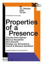 Flyer für 13 October IN DER KUBATUR DES KABINETTS- der Kunstsalon zeigt